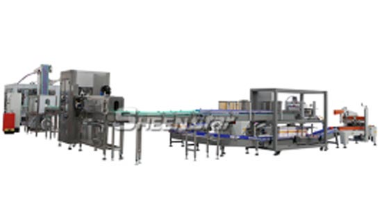 4000bph Pet Bottle Carbonated Drink Filling Carton Packing Line